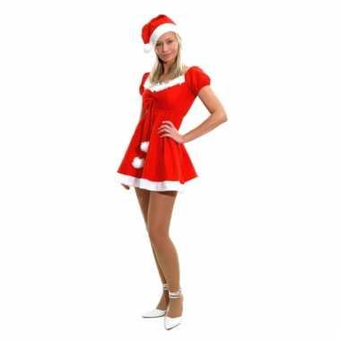 Budget kerstjurkjes met muts voor dames