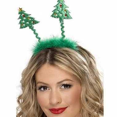 Diadeem met kerstbomen