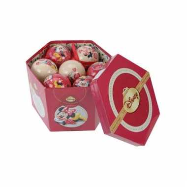Disney kerstballen van minnie mouse