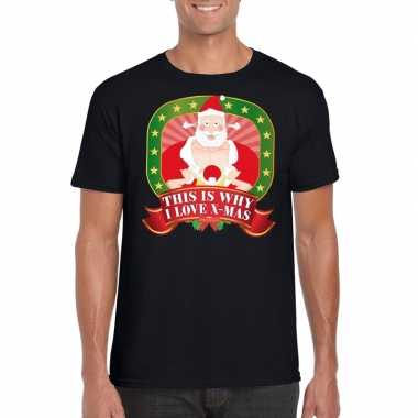 Foute kerst shirt this is why i love x-mas heren