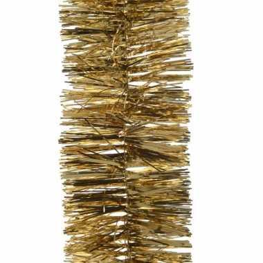 Gouden kerstboomslinger 270 cm