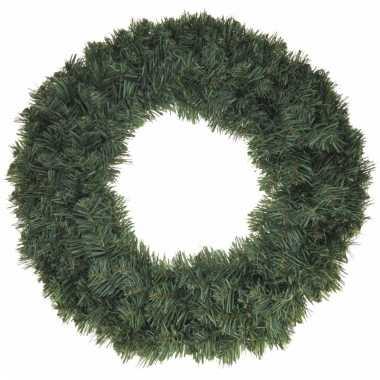Kerst dennenkrans 50 cm