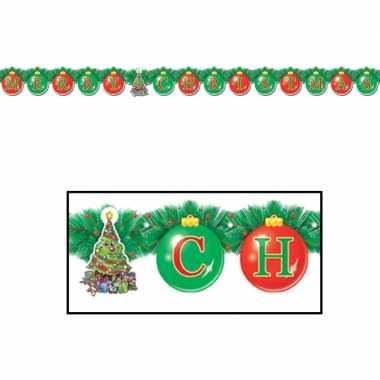 Kerst feestslinger merry christmas