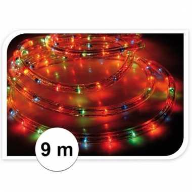 Kerst lichtslang gekleurd 9 meter buiten kerstverlichting