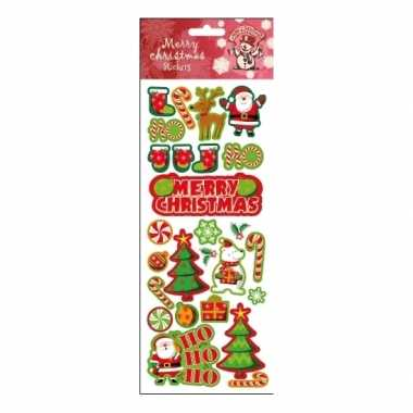 Kerst stickers divers