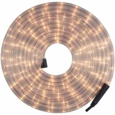 Kerst versiering led lichtsnoer/verlichting wit 24 meter buiten/outdo