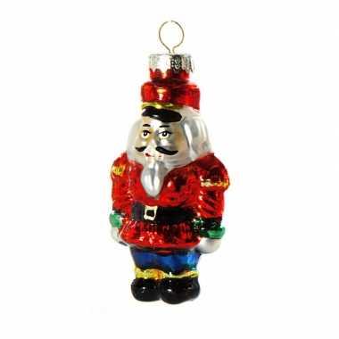 Kerstbal soldaatje 8 cm