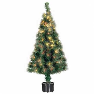 Kerstboom met fiber verlichting 60 cm | Kerst-man.nl