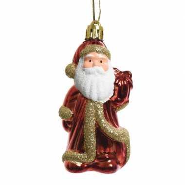 Kerstboomhanger kerstman van 8 cm