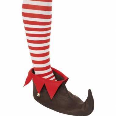 Kerstelf schoenen bruin