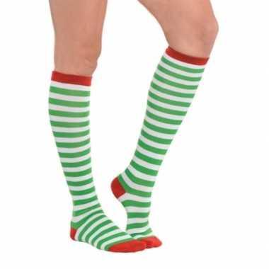 Kerstelf sokken voor volwassenen