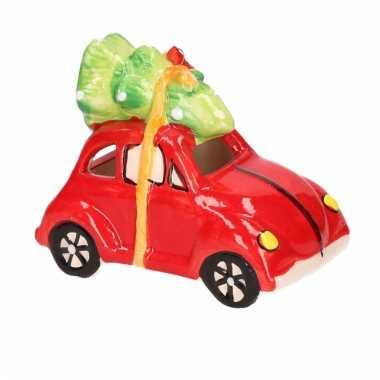 Kersthanger volkswagen kever auto met licht type 4