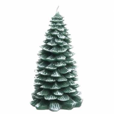 Kerstkaars kerstboom 23 cm