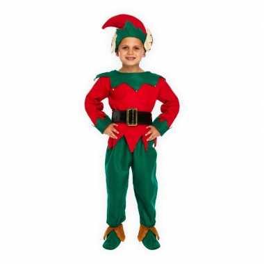 Kerstkostuum elf voor kinderen
