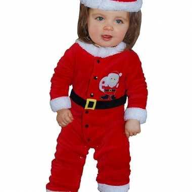 Kerstman baby pakje 3 12 maanden