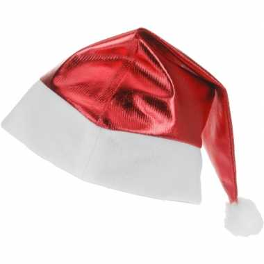 Kerstmuts rood glimmend voor volwassenen