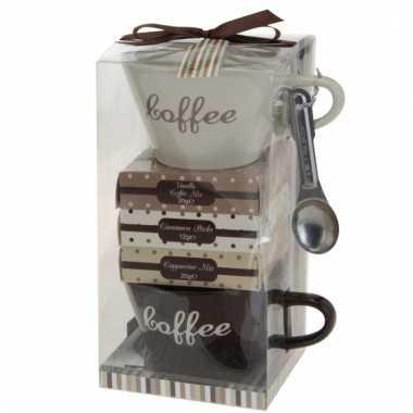 Kerstpakket vulling koffie tijd