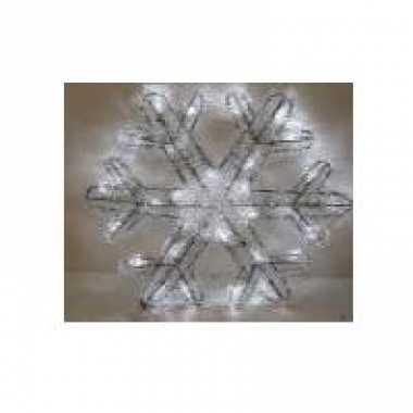 Kerstversiering sneeuwvlok 27 cm