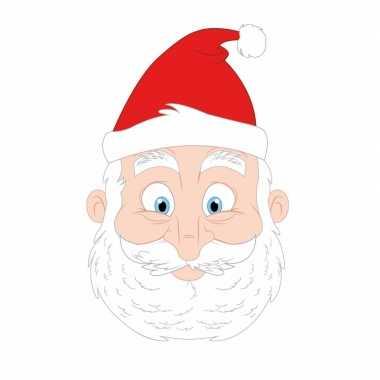 Kinder masker kerstman