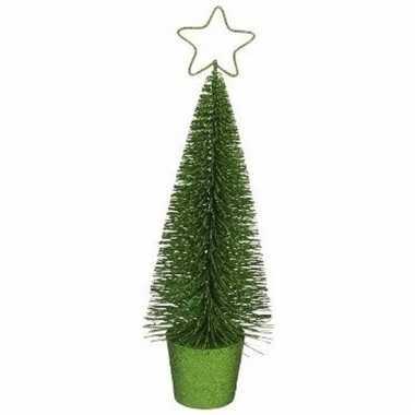 Klein groen kerstboompje 30 cm