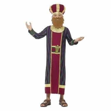 Koning balthazar kerst kostuum voor jongens