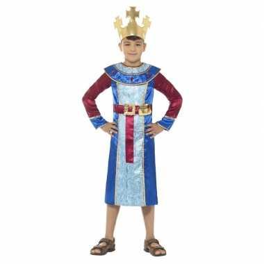 Koning melchior kerst kostuum voor jongens