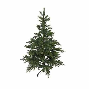 Kunst kerstboom 150 cm dennengroen op stalen voet
