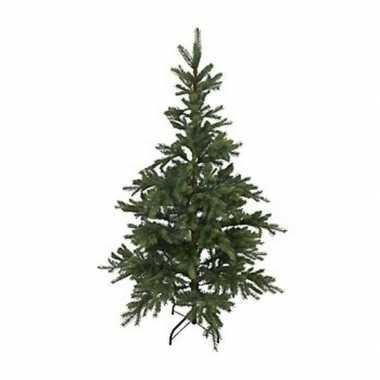Kunst kerstboom 180 cm dennengroen op stalen voet