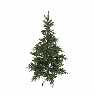 Kunst kerstboom 215 cm dennengroen op stalen voet