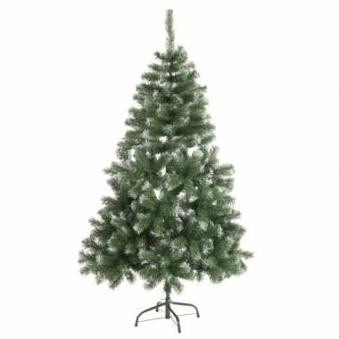 Kunst kerstboom abies 150 cm white tops