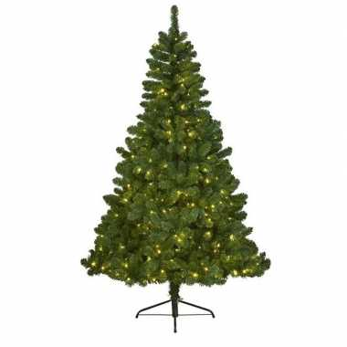Kunstkerstboom met verlichting 150 cm imperial pine groen