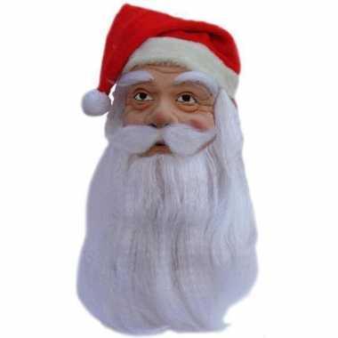 Latex kerstmannen masker