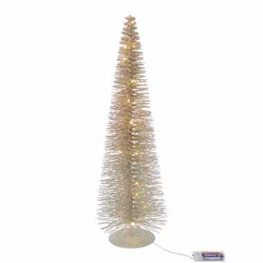 Led tafel kerstboompje van 30 cm met 20 lampjes