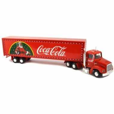 Model auto coca cola kerst vrachtwagen