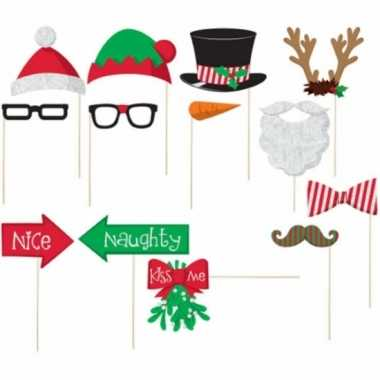 Photo booth prop accessoires kerstmis