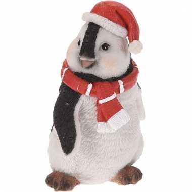 Pinguin kerstbeeldje 10 cm type 1