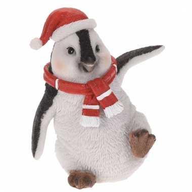 Pinguin kerstbeeldje 10 cm type 2