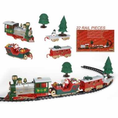 Rijdende kersttrein 22-delig