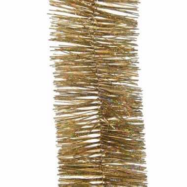Sweet christmas kerstboom decoratie slinger goud 270 cm