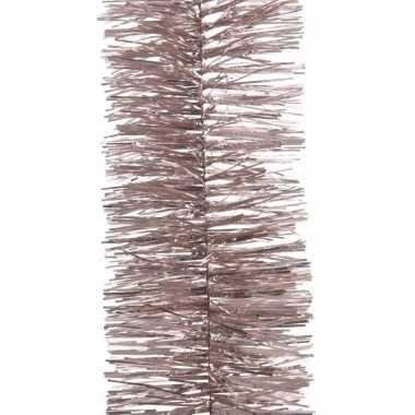 Sweet christmas kerstboom decoratie slinger roze 270 cm