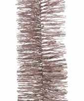 2x roze kerstboomslinger 270 cm