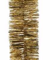 Ambiance christmas kerstboom decoratie slinger goud 270 cm 10097980