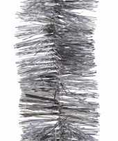 Christmas silver kerstboom decoratie slinger zilver 270 cm