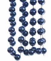 Elegant christmas kerstboom decoratie kralenslinger xxl blauw 270 cm