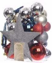 Elegant christmas kerstboom decoratie set 33 delig
