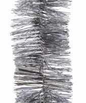 Elegant christmas kerstboom decoratie slinger zilver 270 cm