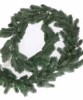 Groene kerst dennen slinger 180 cm