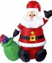 Grote opblaasbare kerstman 122 cm