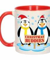Kerst beker christmas buddies 300 ml
