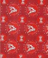 Kerst cadeaupapier 8 meter type 6